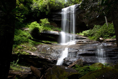 Bernie's Falls, Miser Creek Transylvania County North Carolina