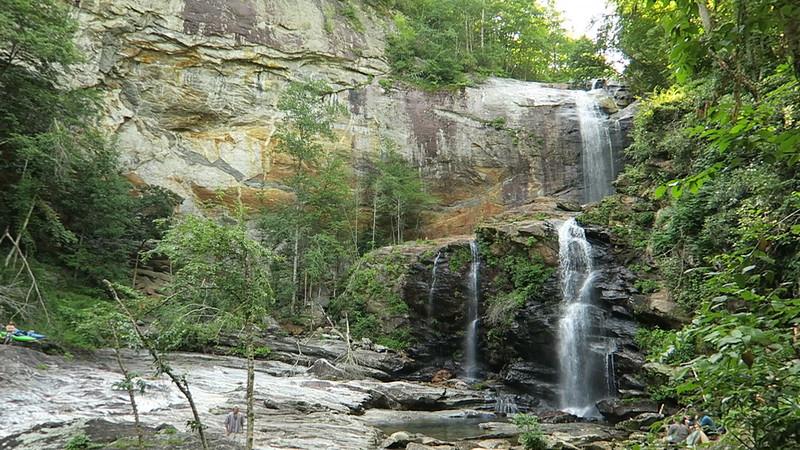 High (Cullowhee) Falls -- Dam Release Video