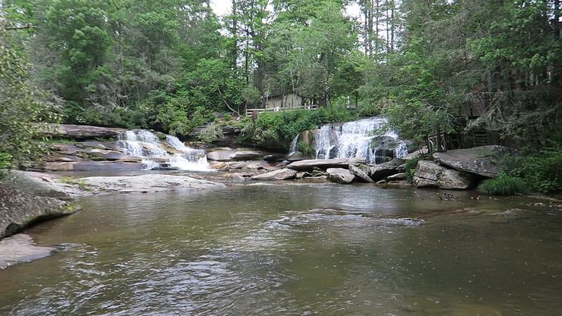 French Broad & Shoal Creek Falls