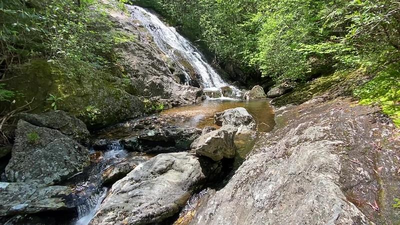Bubbling Spring Branch (Upper Falls)
