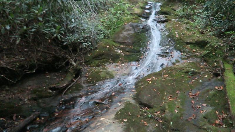 Dryland Laurel Branch Falls