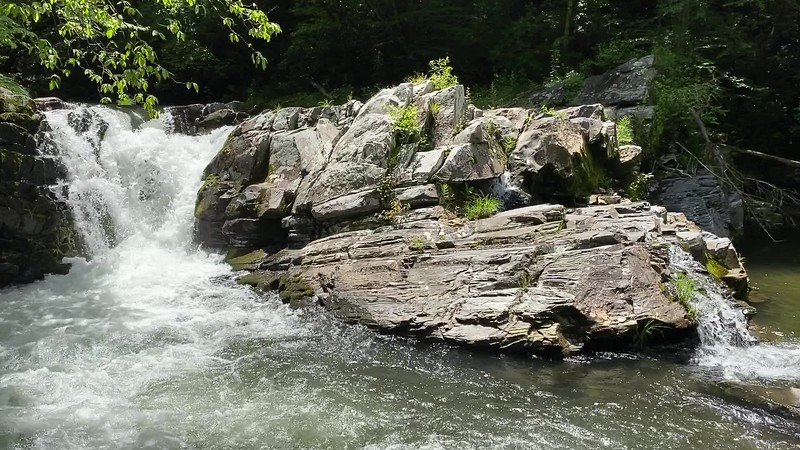Cascade on Nantahala River