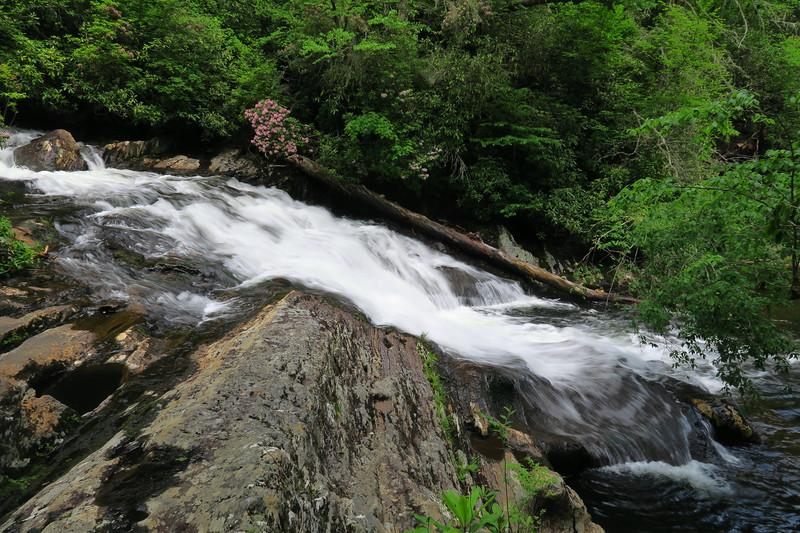 Big Falls (Snowbird Creek; lower)