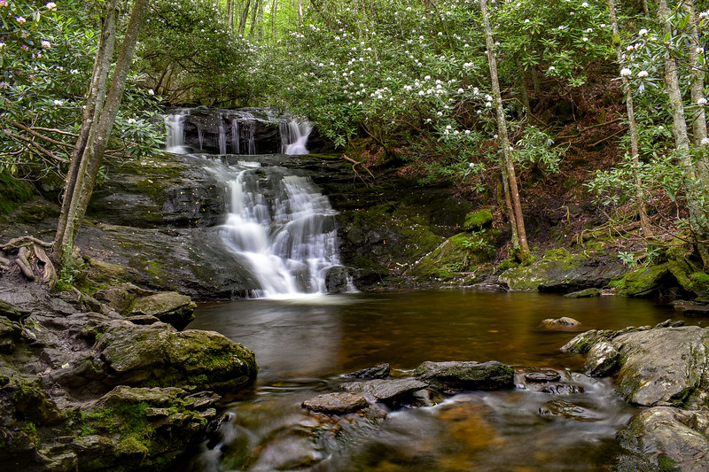 Big Laurel Falls