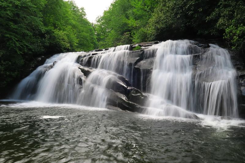 Middle Falls (Snowbird Creek)
