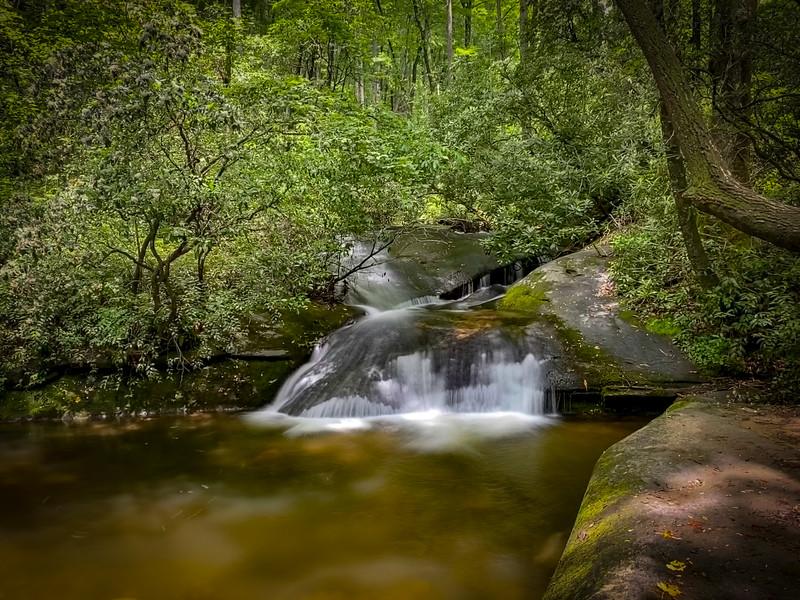 Lower Rockhouse Creek Falls