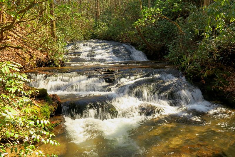 Line Runner Ridge Falls