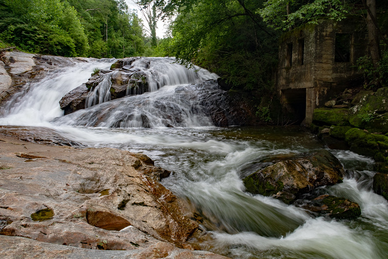 Lower Waterfall on Hungry River