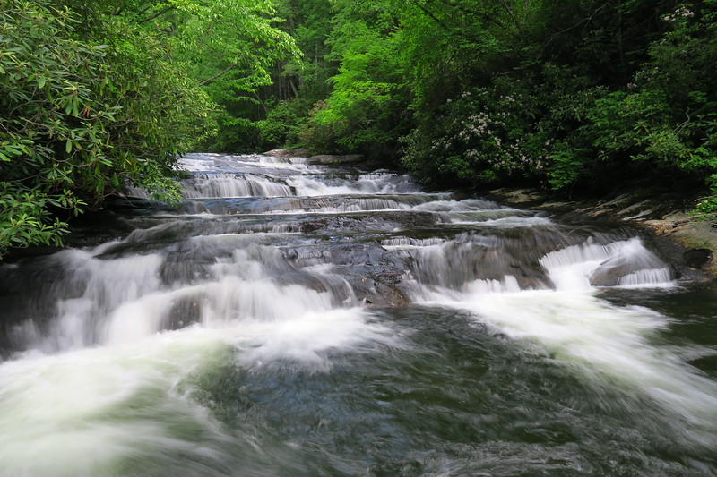 Big Falls (Snowbird Creek; upper)