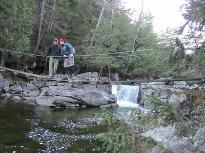 Opalescent River - Mt. Marcy     Adirondack High Peaks