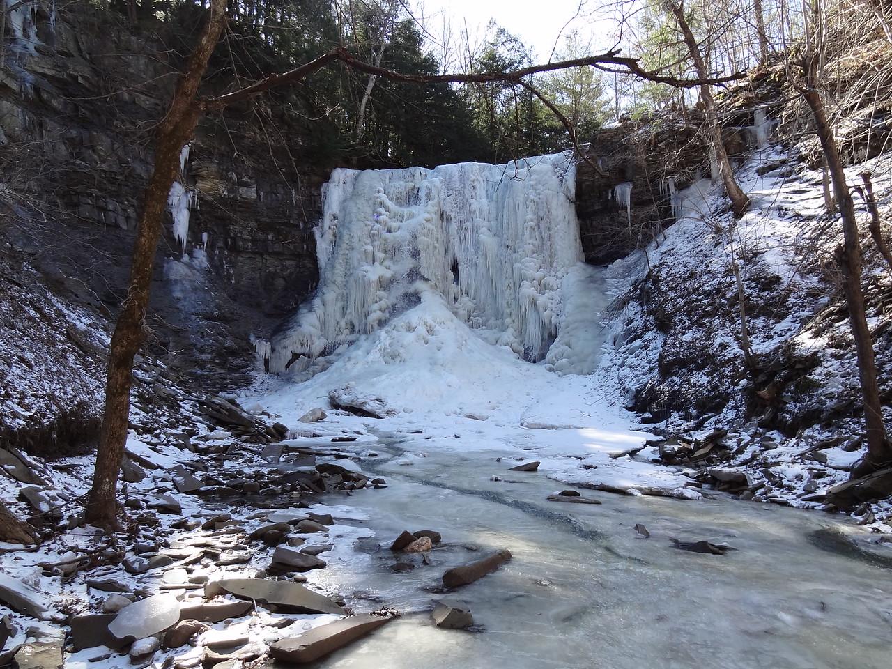 Close up of the Upper Falls.