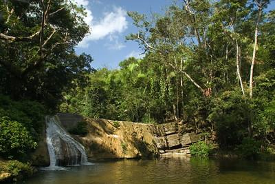 Noh Sos - Rock of San Antonio - San Antonio Falls in San Antonio Village, Southern Belize, Toledo.