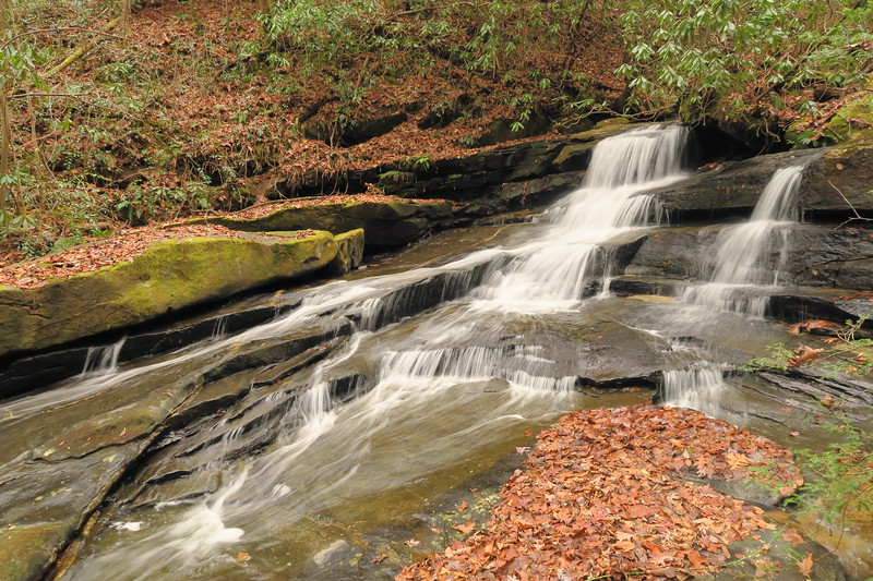 Middle Saluda Falls (lower)
