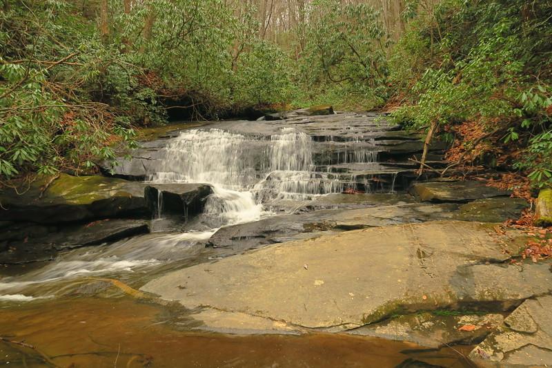 Middle Saluda Falls (upper)