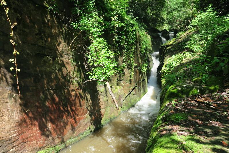 Eastatoe Gorge Narrows