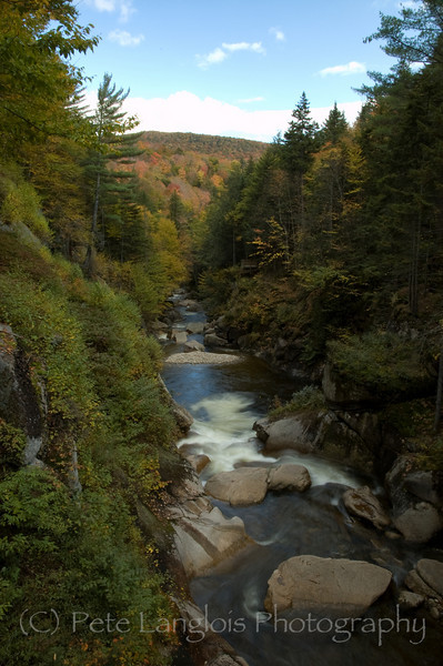 Liberty Gorge in Franconia Notch State Park, New Hampshire