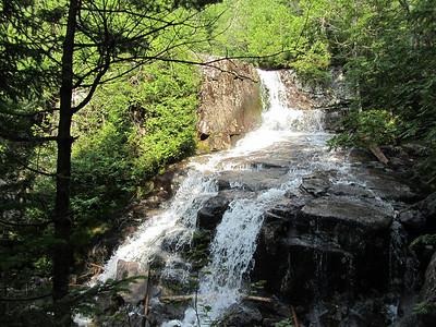 Trail Between Iroquois & Algonquin Adirondack High Peaks