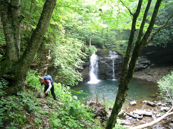 Upper Seneca Creek & Falls, WV (8/2007)