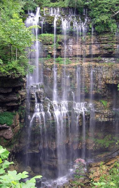 Virgin Falls, TN 8/2006