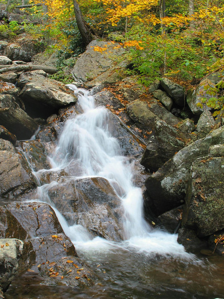 Cabin Creek Falls, Upper