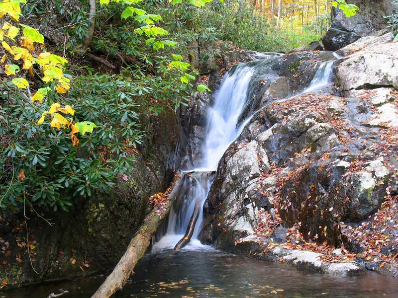 Cabin Creek Falls, Lower