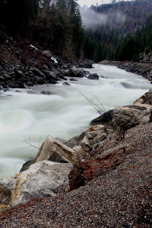 Wenatchee River at High Peak