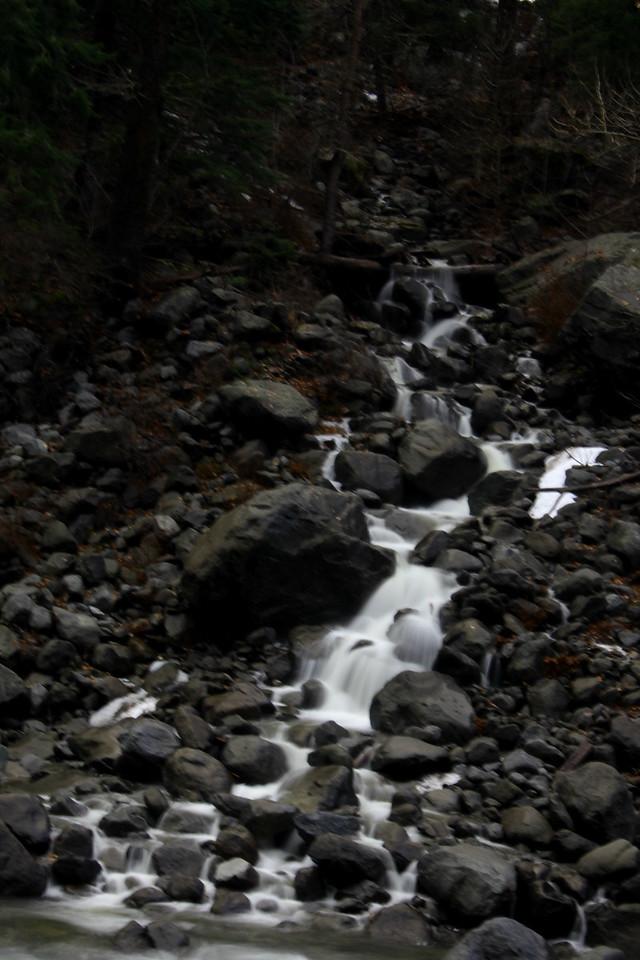 Run-off Wenatchee River
