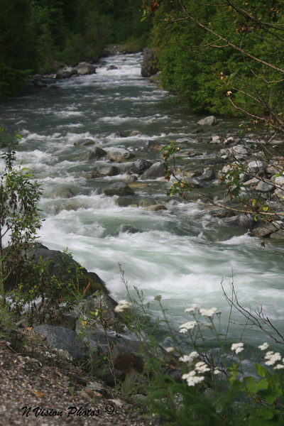 Run off on Wenatchee Creek