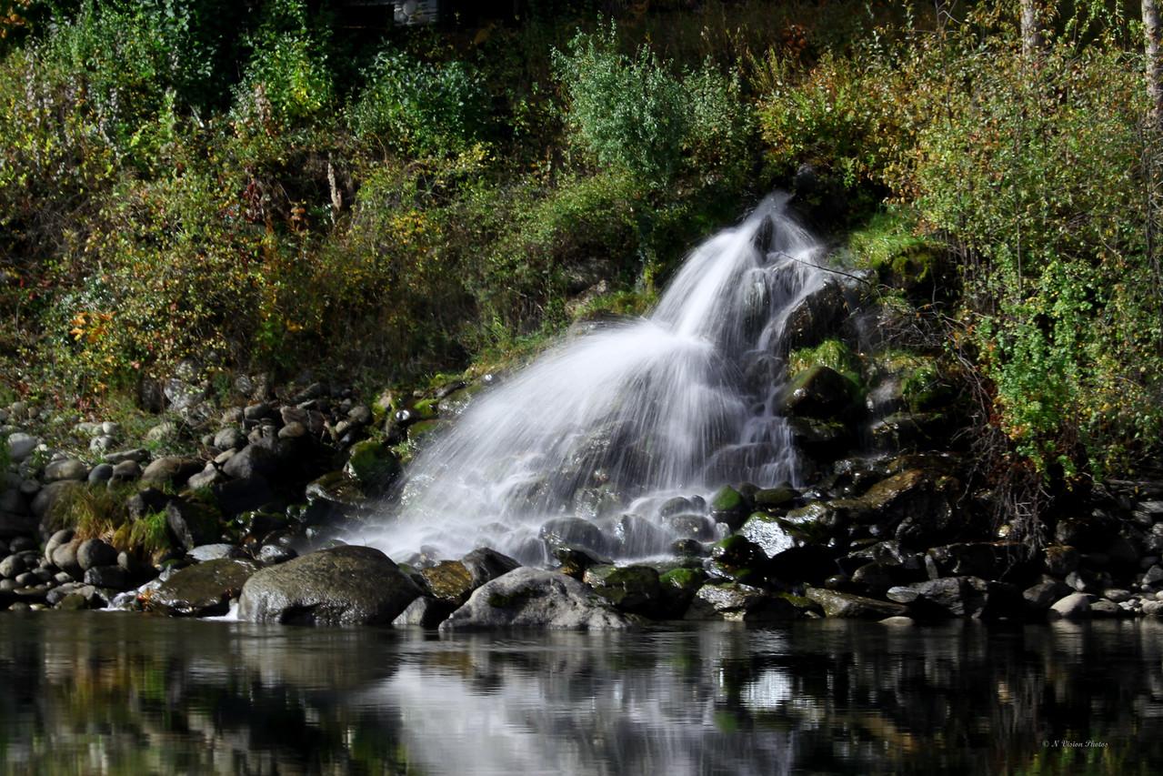 Run off at Wenatchee River