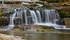 Waterfall in Jackson, NH in Autumn