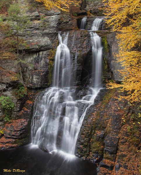 Bushkill Main Falls   0244 w33