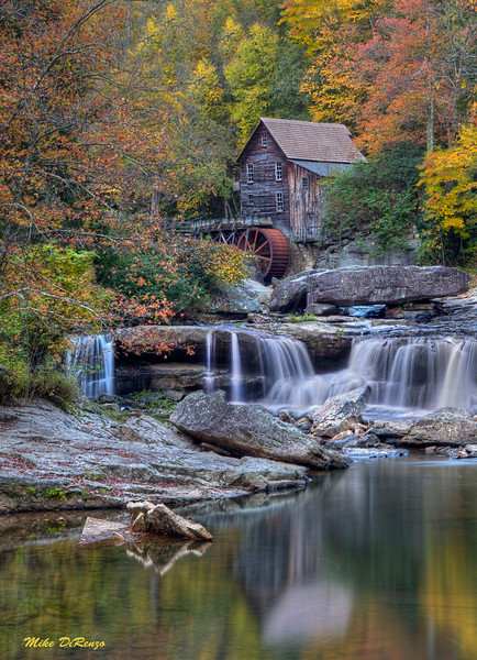 Autumn in Glade Creek 3545 w48