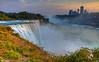 American Falls at Sunset  7847 w44