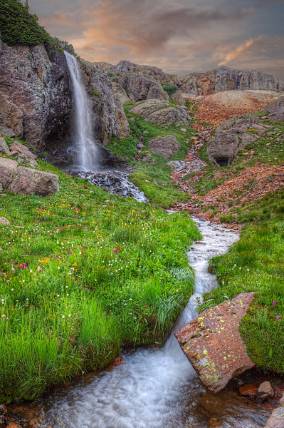 Purfory Basin Falls 0709 w42