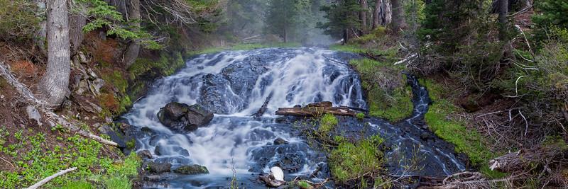 Falls near Todd Lake