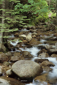 Franconia Notch River, New Hampshire
