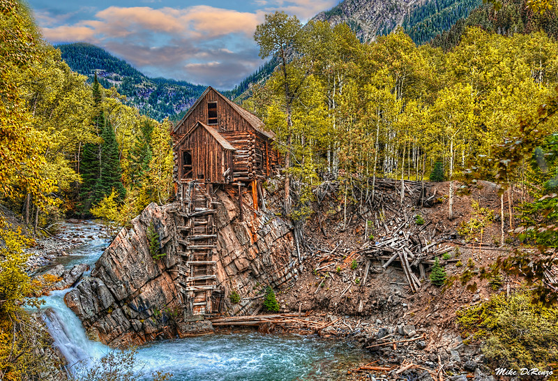 Crystal Mill in Autumn 1370 w42