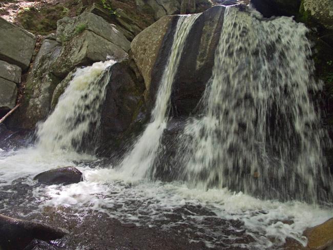 Trap Falls at Willard Brook, Ashby