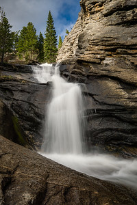 Waterfall in Rocky Mountain National Park
