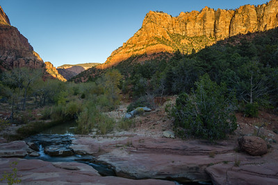 La Verkin Creek - Zion National Park