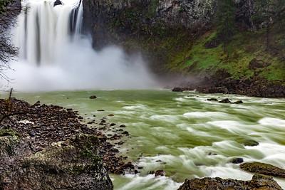 Raging Snoqualmie Falls