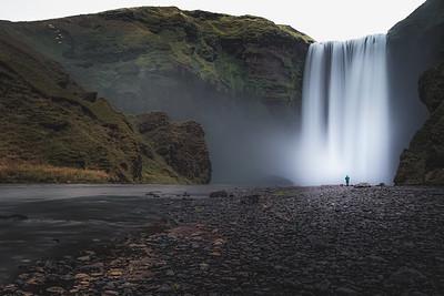 Skogafoss, Iceland.
