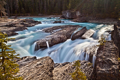 Natural Bridge Falls Yoho National Park