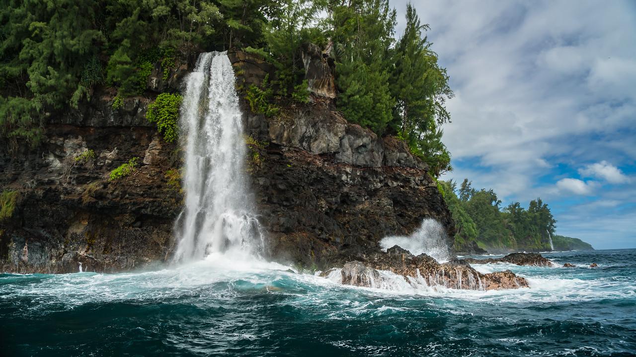 The Waterfall Coast, Hawaii
