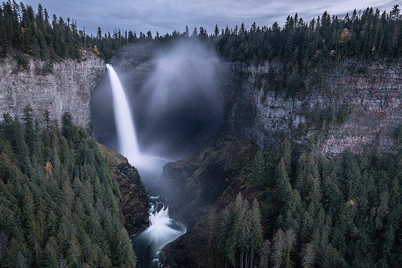Helmcken Falls Summer