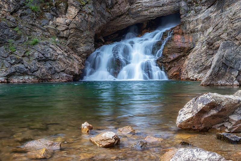 Trick Falls (Running Eagle Falls)