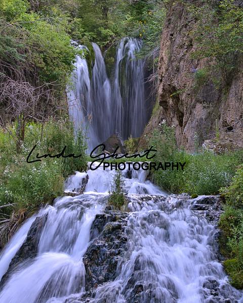 South Dakota waterfall