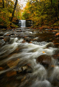 Kitchen Creek Upstream to Harrison Wright Falls
