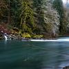 Skagit River flowing through N Cascades National Park