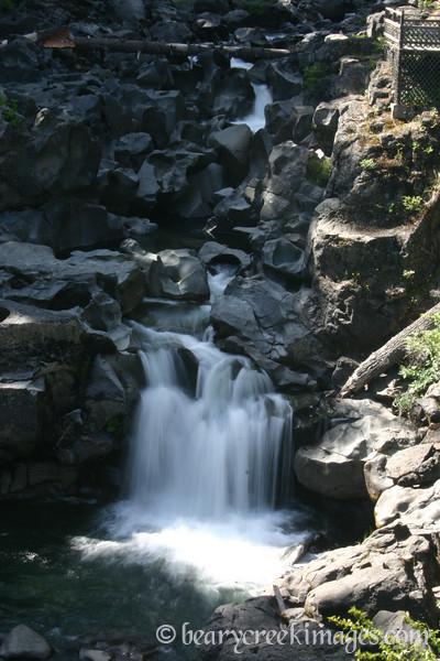 Prospect Falls near Prospect, Oregon